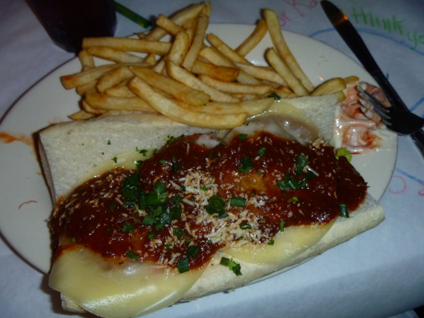 Eggplant Parmesan Po' Boy!group was asked to stick to a $15/piece ...